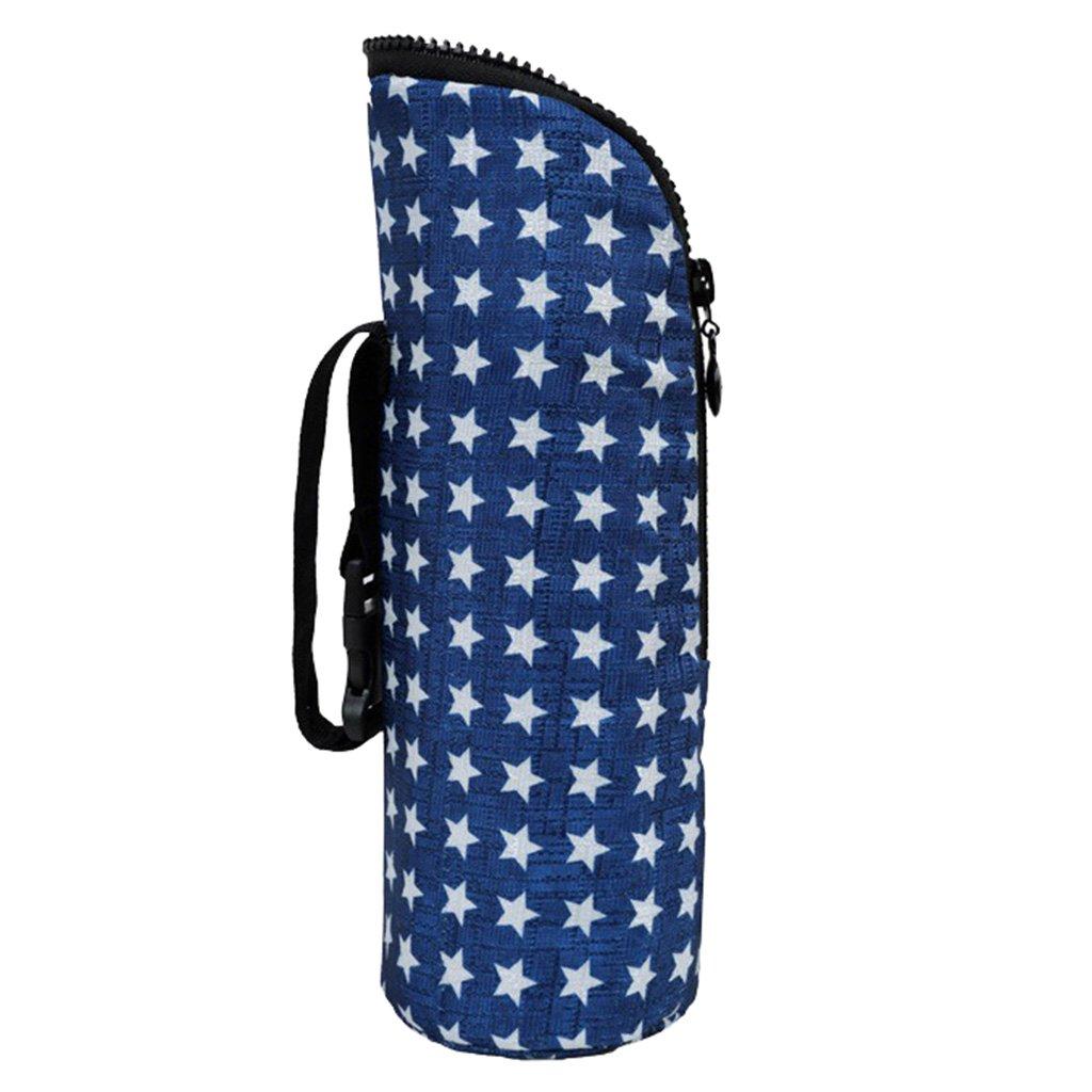 Baoblaze Warmhaltetaschen Baby flaschen Tasche Warmhaltebox Baby Bottle Bag Durchmesser: 8cm//3.14inch - Schwarz Gr/ö/ße: H/öhe: 25cm//9.84inch