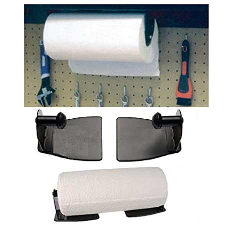 Magnetic Paper Towel Holder   Heavy Duty Steel Holder With Magnetic Backing  That Sticks To Any