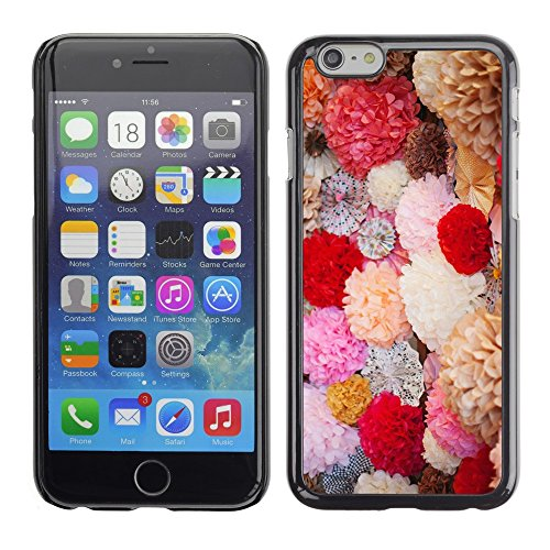 Soft Silicone Rubber Case Hard Cover Protective Accessory Compatible with Apple iPhone? 6 (4.7 Inch) - spring flowers bouquet field valentines