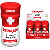 DrinkAde Prevention (6 Pack - 3.4 Oz Bottles) - Previously Never Too Hungover w/Electrolytes, B Vitamins, Milk Thistle, Green Tea Extract. 100% Satisfaction Guaranteed.