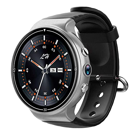 Amazon.com: Lee Lam Smart Watch, Android 4G Smartwatch Heart ...