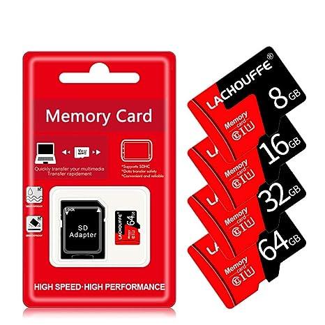 Cynyy Tarjeta Micro SD De 32 GB Tarjeta De Memoria TF De 64 ...