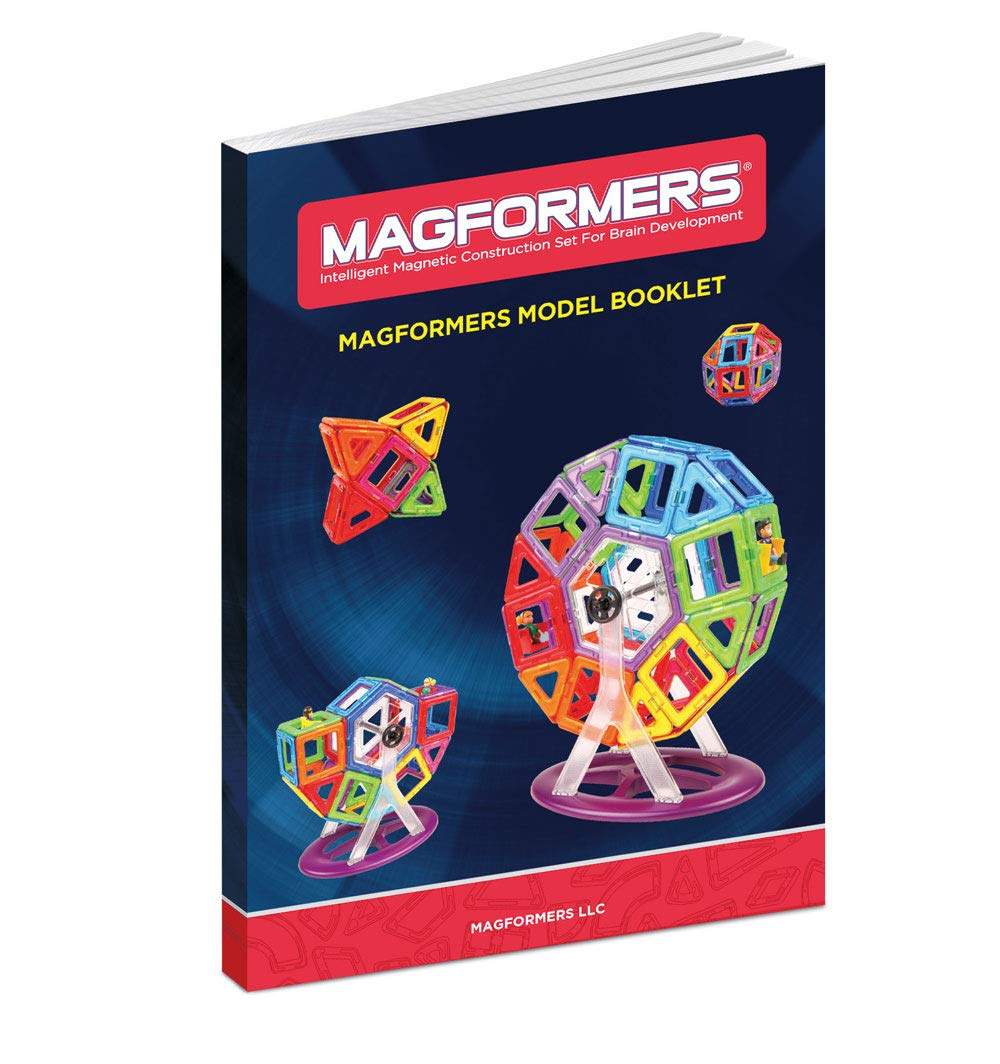Magformers Basic Set (62-Pieces)  Magnetic Building Blocks, Educational Magnetic Tiles, Magnetic Building STEM Toy by Magformers (Image #9)