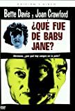 Que Fue De Baby Jane (Import Dvd) (2007) Bette Davis; Joan Crawford; Anne Bar...