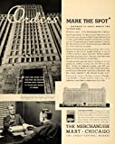 1935 Ad Merchandise Mart Chicago Great Central Market - Original Print Ad