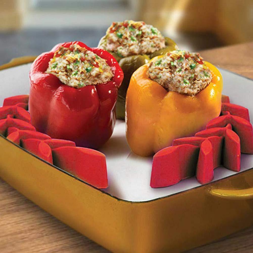in Silicone per arrosti di Cottura in microonde Bakeware Antiaderente 5,91 3,94 1,97 Pollici gaeruite Roasting Rack,