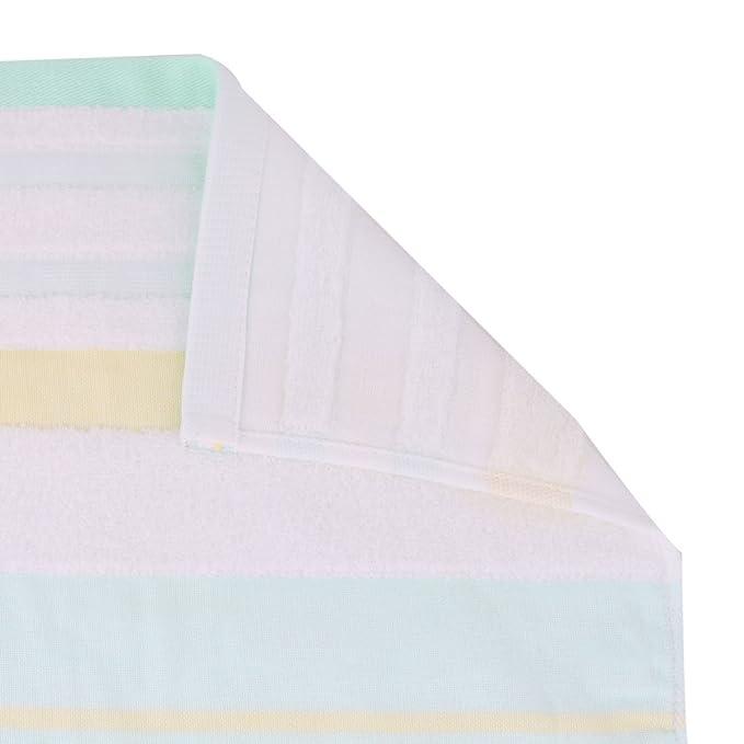 sourcing map Sourcingmap KUTTO Autorizado Baño Familiar Mezclas del algodón patrón de Rayas Toalla de baño Ducha: Amazon.es: Hogar
