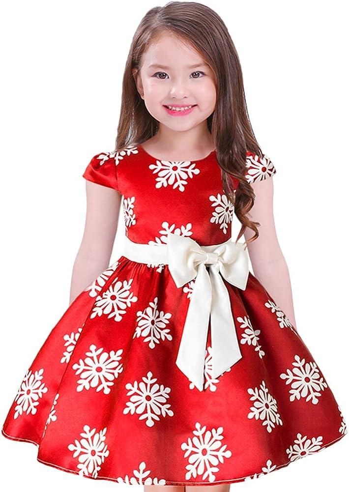 Handmade Christmas dress Christmas print