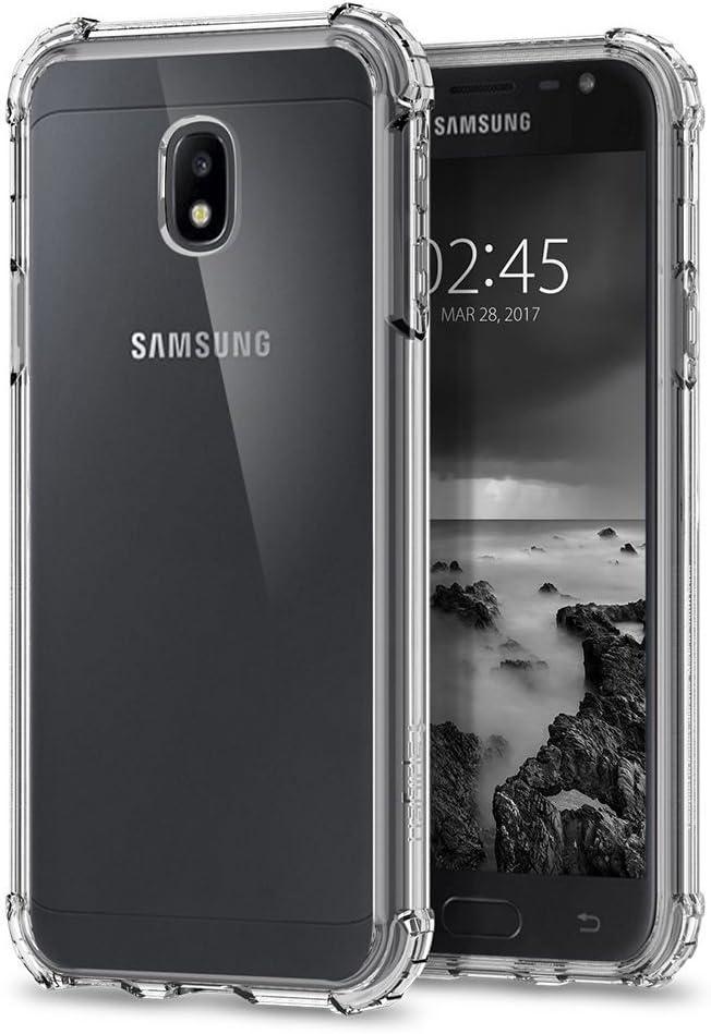 ELECTRÓNICA REY Funda Anti-Shock Gel Transparente para Samsung ...