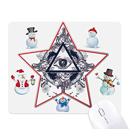triangle snowman