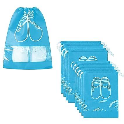 Aipark 10 Piezas Bolsas de Zapatos, Bolsa Impermeable Telas ...