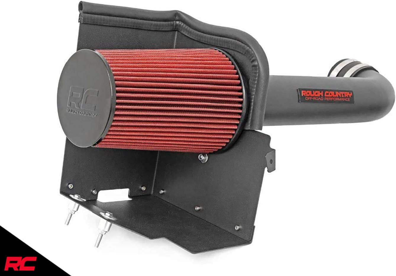 Rough Country Cold Air Intake 3.8L Performance Air System 2007-2011 Jeep Wrangler JK fits 10554