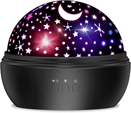 TOYS FOR Boys//Girls 2 10 Year Old Kids LED Star Projector Night Light Xmas Gift