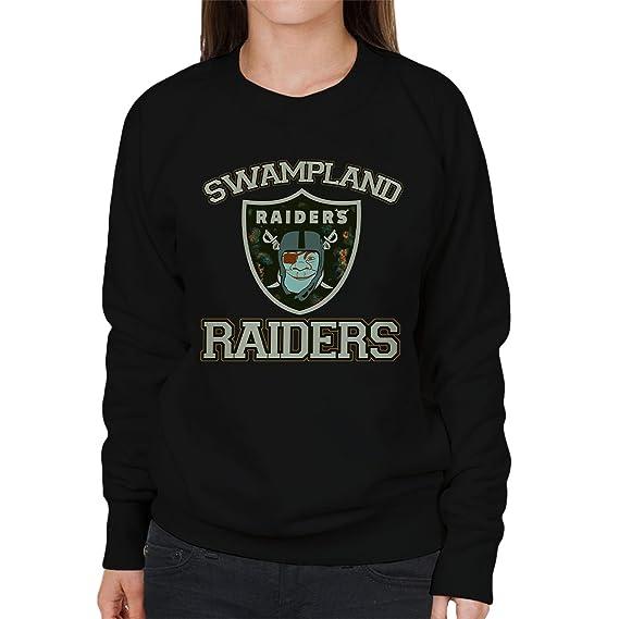 Swampland Raiders Shrek Women's Sweatshirt