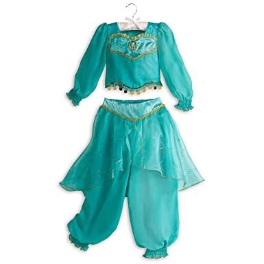 disney store jasmine aladdin halloween costume size m medium 7 8