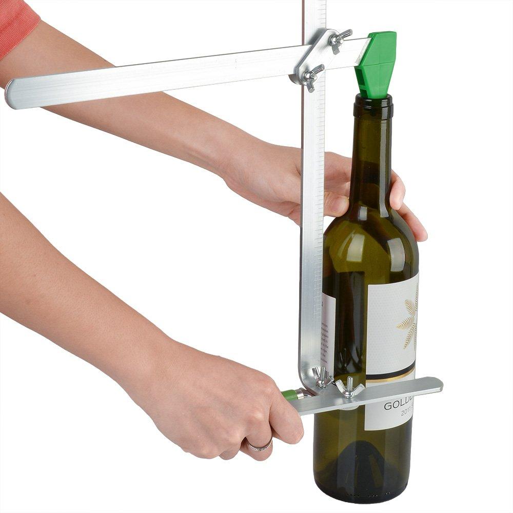 AGPtek Botella de cristal Cortador Vidrieras recicla botellas de ...