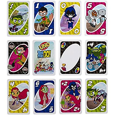UNO: Teen Titans - Card Game: Toys & Games