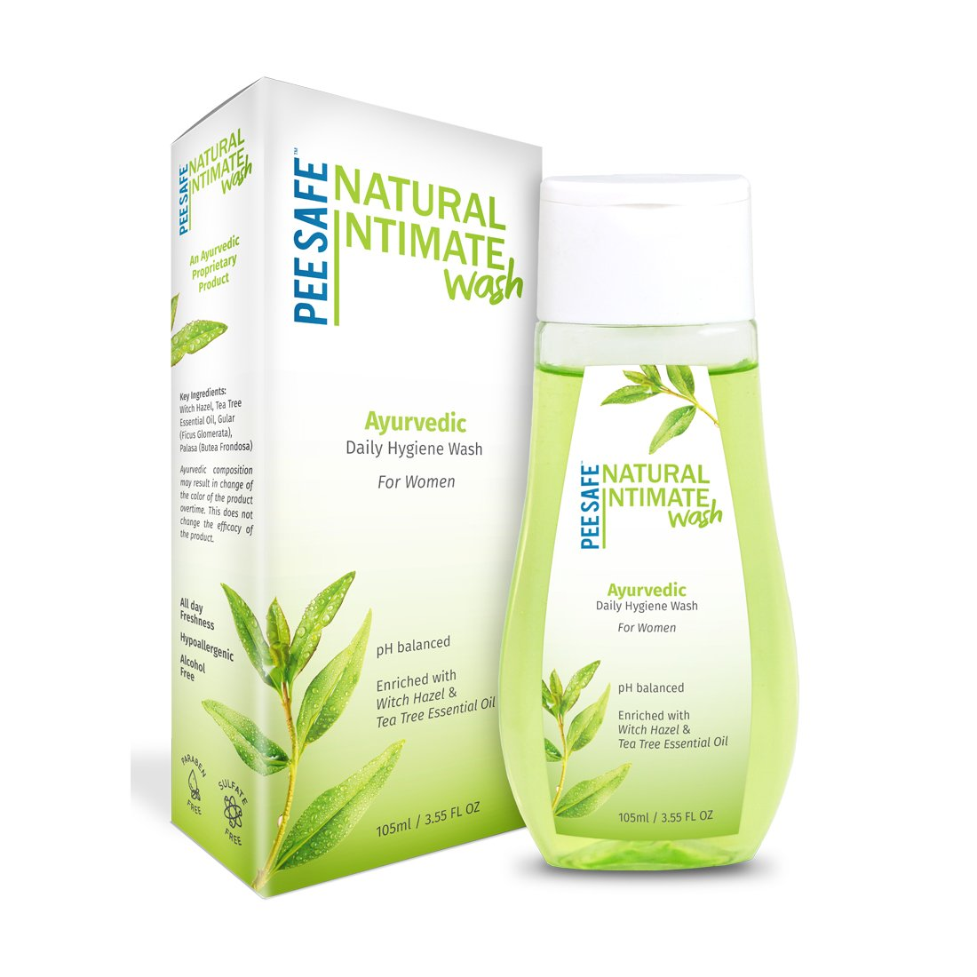 Pee Safe Natural Intimate Wash - 105 ml product image