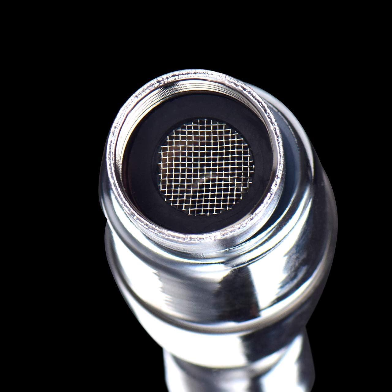 10 Inch 304 Stainless Steel Rainfall Showerhead Renxinu 1 Pack High Pressure Shower Head Ultra-Thin Design-Best Pressure Boosting for Bathroom