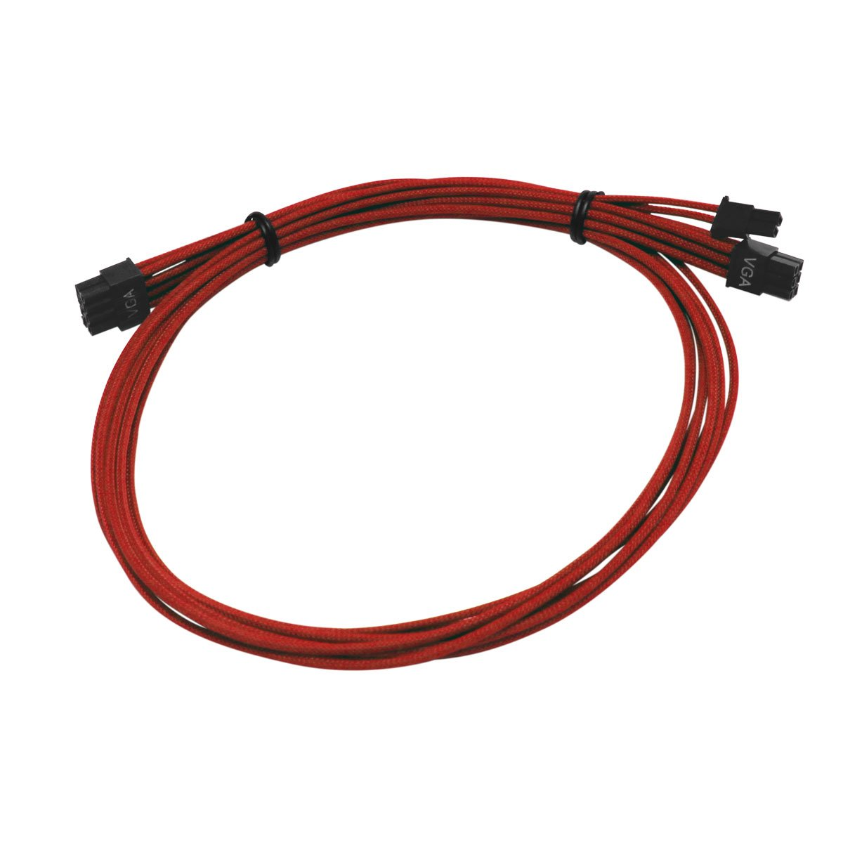 EVGA G2/G3/P2/T2  100-CR-1300-B9 Power Supply Cable Set (Individually Sleeved), Red by EVGA (Image #2)