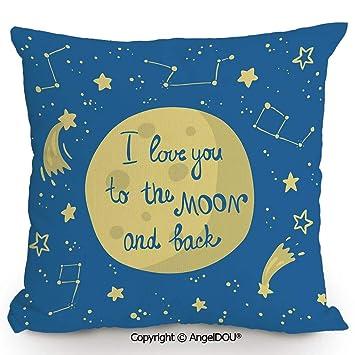 Amazon.com: AngelDOU - Cojín para sofá, algodón, lino ...