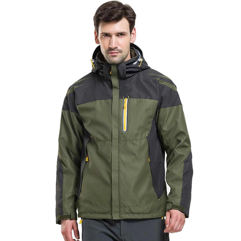 7cab9f4356cfb5 CIKRILAN Herren 3 in 1 Winddicht Wasserdicht Atmungsaktiv Funktionsjacke  Outdoor Sport Camping Wandern Jacke Mantel günstig online kaufen