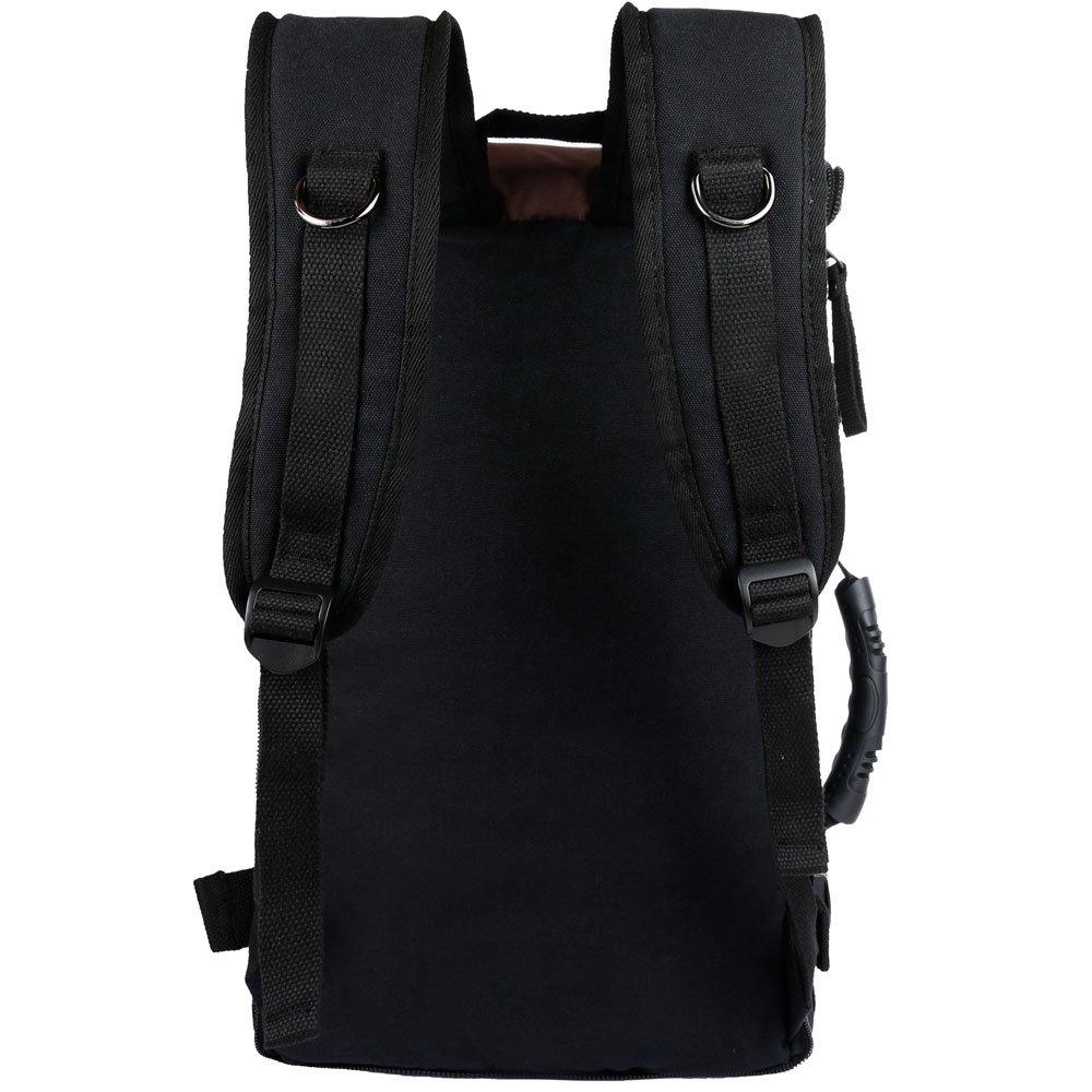 ibagbar Canvas Backpack Travel Bag Hiking Bag Rucksack ...