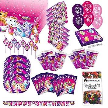Teletubbies Party Set XL 61-teilig f/ür 8 G/äste Teletubby Deko Geburtstags Kit