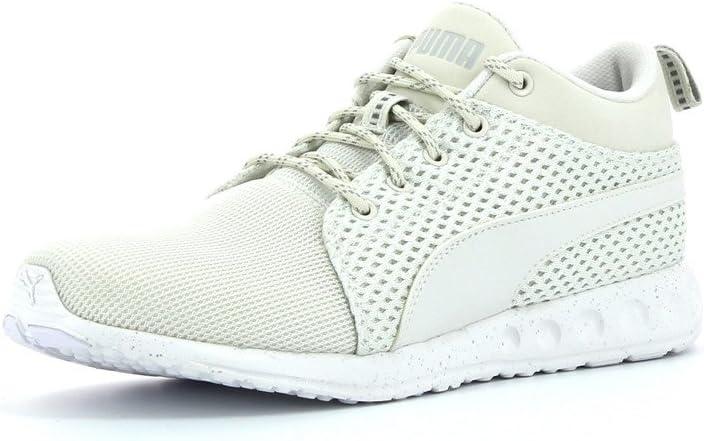 Puma CARSON MID KNIT Beige Men Sneakers