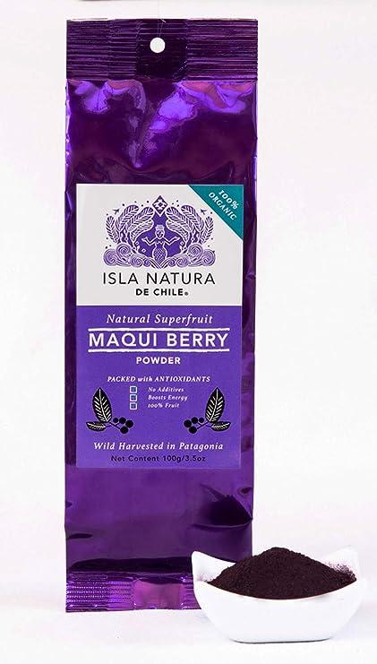 Amazon Com Premium Pure 100 Organic Maqui Berry Powder Wild