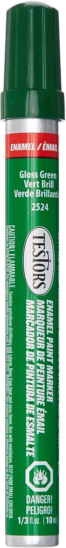 Testors Enamel Paint Marker-Gloss Green