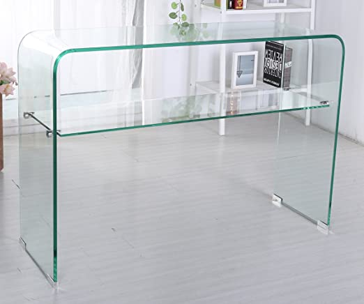 Worldtrade 100 Sen Muebles Consola de Cristal Transparente Ritz ...
