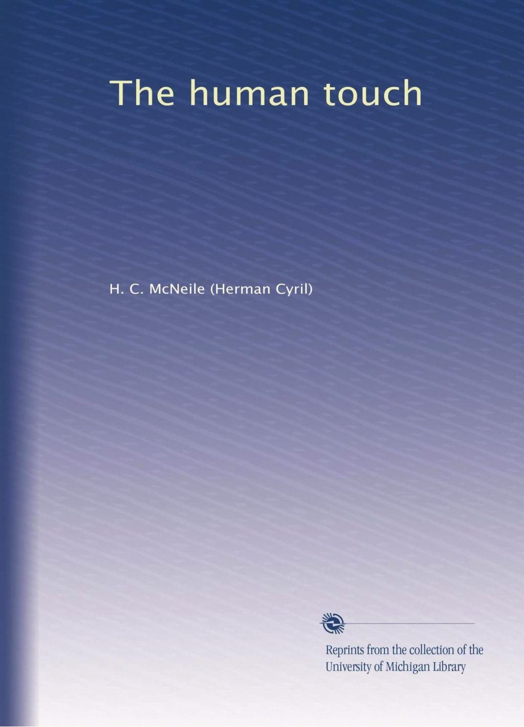 Download The human touch pdf epub