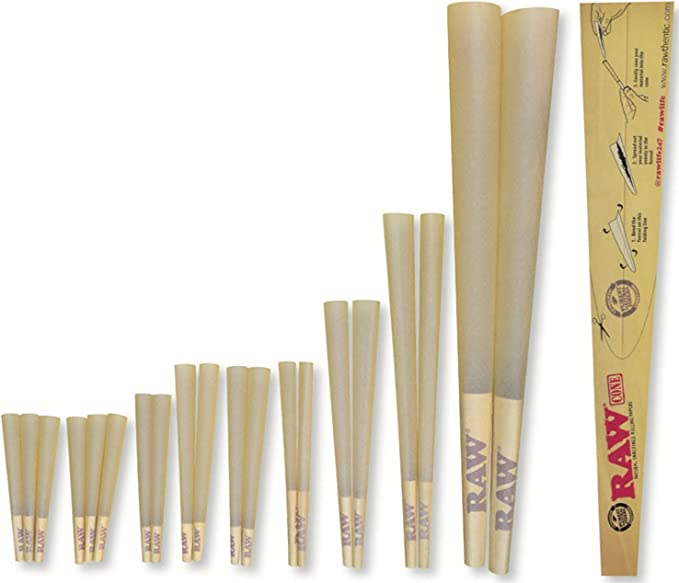RAWKET - Pack 20 Conos Pre-rolled