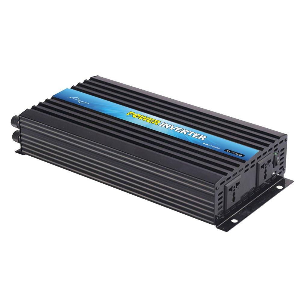 NIMTEK MS2500 Pure Sine Wave Off-grid Inverter, Solar Inverter 2500 Watt 12 Volt DC To 220 Volt AC