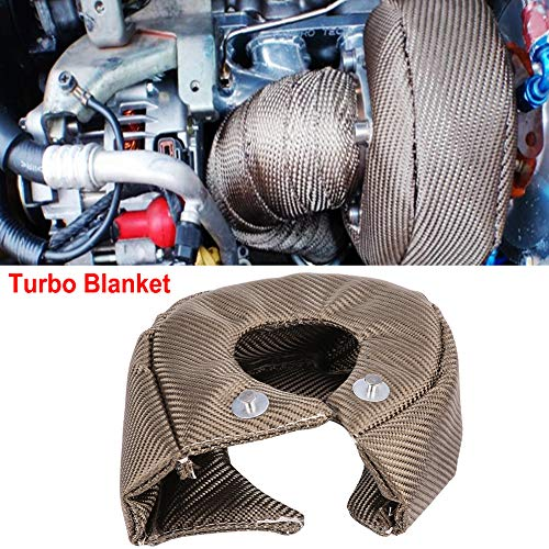 Price comparison product image Turbo Blanket T3 / T4 for Turbocharger Thermal Heat Shield Cover Wrap (T4)