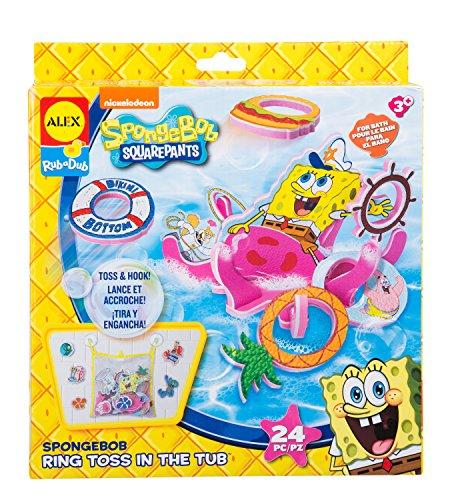 Bath Toss (SpongeBob Ring Toss in the Tub Bath Toy)
