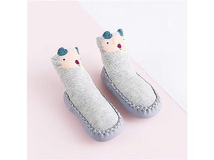 Calcetines para niños Calcetines de algodón para niños Little Tiger Calcetines de algodón antideslizantes para niños