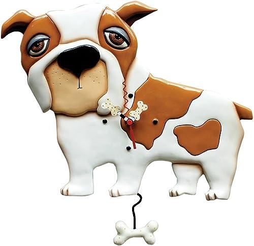 Allen Designs Spike the Dog Pendulum Wall Clock