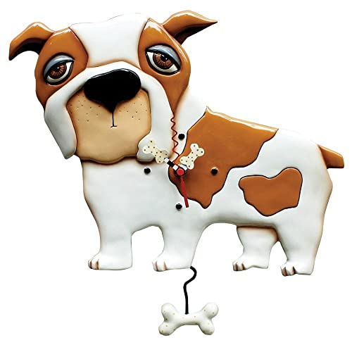 Allen Designs Spike the Dog Pendulum Wall Clock