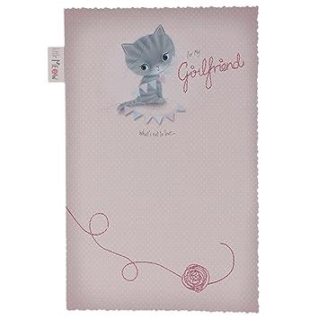Hallmark Birthday Card For Girlfriend Cupcake Large Amazon