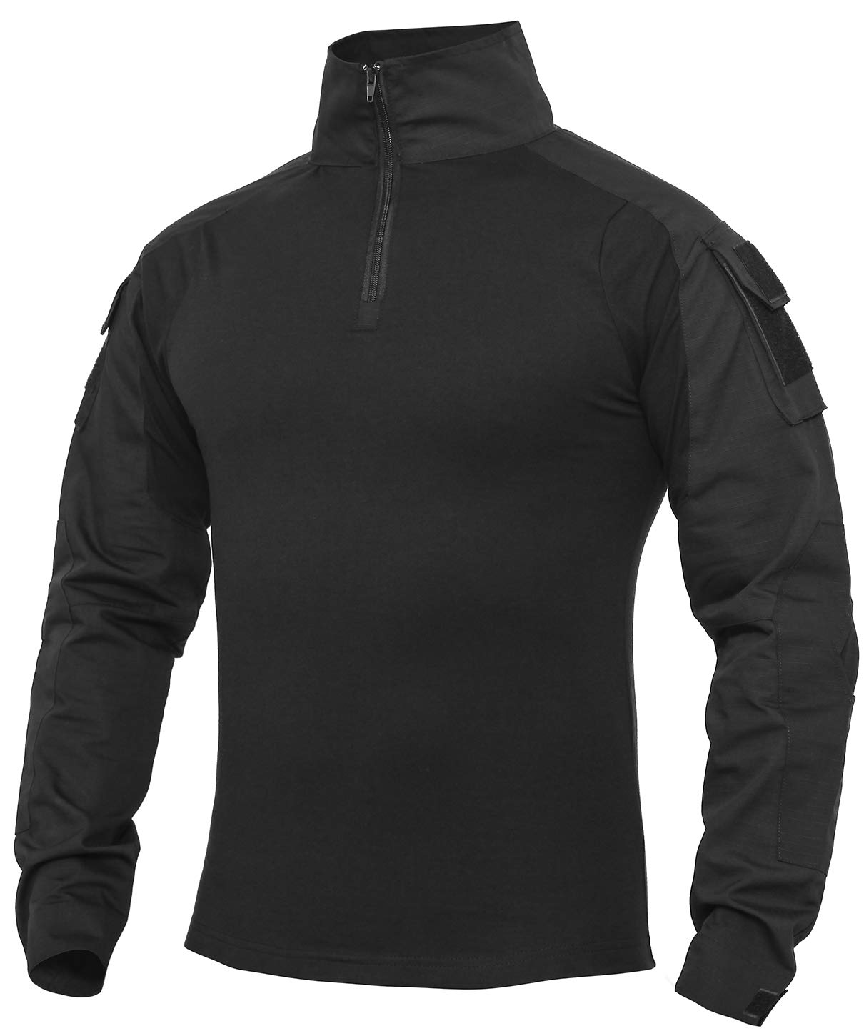 XKTTAC Tactical-Combat -Airsoft-Military-Shirt (Black, S)