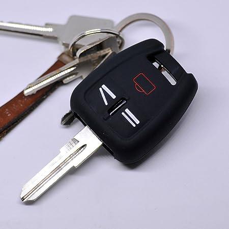 Soft Case Silikon Schutz Hülle Auto Schlüssel Schwarz Elektronik