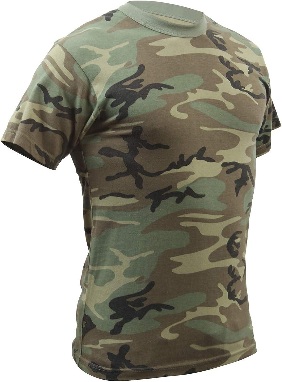 Rothco Kids Vintage T-Shirt - Woodland Camo: Clothing