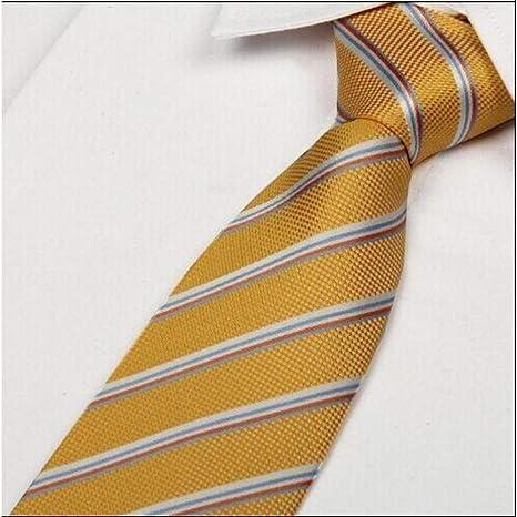 COLILI Corbatas De Caballeros Moda Casual Corbata A Rayas ...