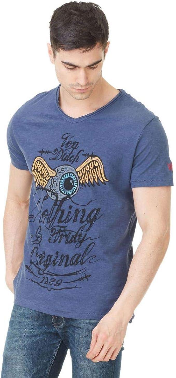 Von Dutch Camiseta Eyes (M): Amazon.es: Ropa y accesorios