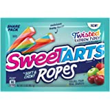 SweeTARTS Twisted Rainbow Ropes Share Pack, 3.5 Ounce, Pack of 12