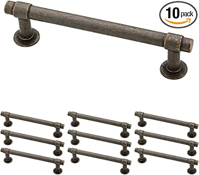 Franklin Brass P29617k Wcn B Francisco Drawer Pulls Cabinet Hardware Collection Cabinet Pulls 4 In Aged Bronze 10 Pack Amazon Com