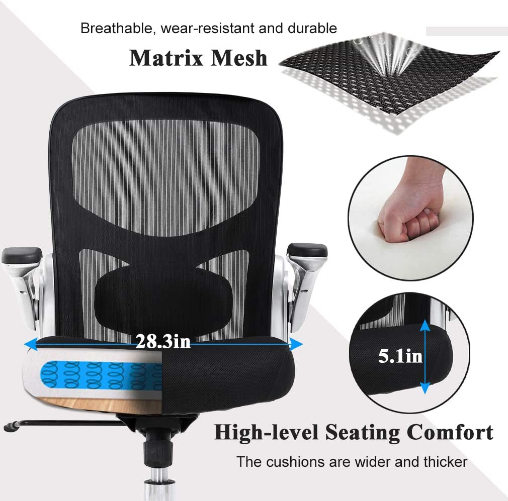 Big and Tall Office Chair Mesh Computer Chair