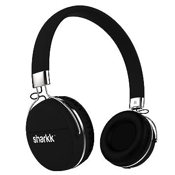 Auriculares Bluetooth estereo Sharkk Auriculares inalámbricos conectados multipunto 12 horas de reproducción Auricular Bluetooth con micrófono: Amazon.es: ...